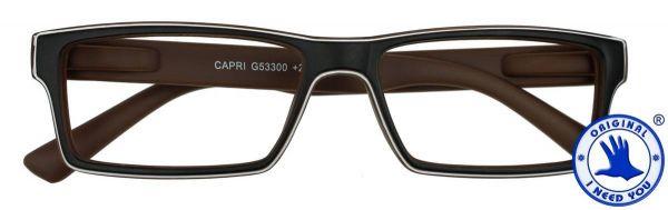 Leesbril CAPRI Bruin