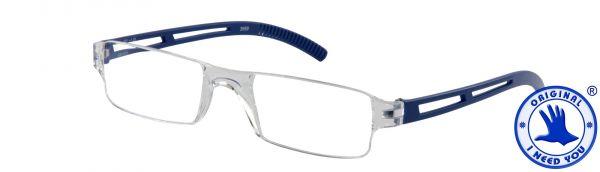 Leesbril JOY G61600 kristal-blauw