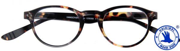 Leesbril Hangover Panto - Havanna Bruin - Met etui