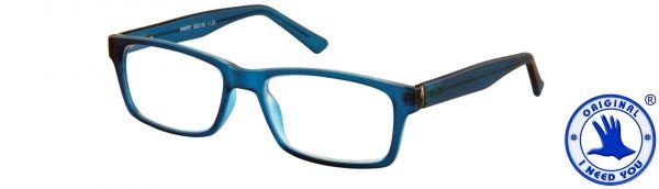 Leesbril Harry - Blauw - Met etui