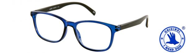 Leesbril LUCKY - Blauw-zwart