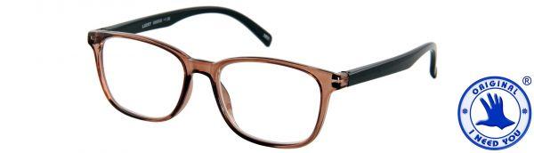 Leesbril LUCKY - Bruin-zwart