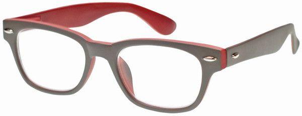 Leesbril WOODY SELECTION G42100 Grijs-rood